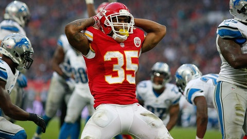 Kansas City running back Charcandrick West