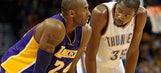 Thunder's Durant trashes media for treatment of Kobe