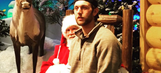 Bengals TE Tyler Eifert sits on Santa's lap, makes wish for playoff success
