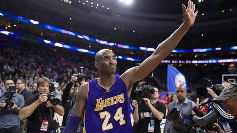 The Lakers were freed from the albatross that was Kobe Bryant