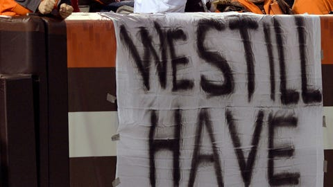 The state of the 2015 Cleveland Browns