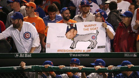 Curse of the Billy goat meets Daniel Murphy