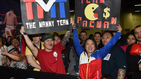 From Hawaii with love for Manny Pacquiao