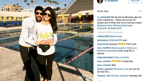 Michael Phelps & Nicole Johnson