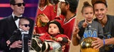 Next generation: Athletes and their kids in 2015