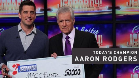 Aaron Rodgers on 'Celebrity Jeopardy!'