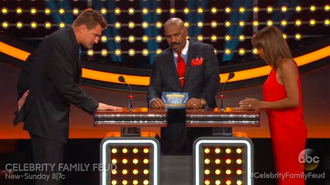 Rob Gronkowski on 'Celebrity Family Feud'