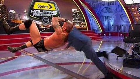 #ShaqtinaFall takes over 'Inside the NBA'