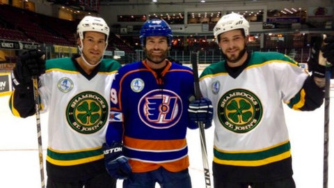 Michael Del Zotto & Tyler Seguin in 'Goon: Last of the Enforcers'