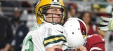 Cardinals' Aaron Rodgers sack party includes Oprah, Ric Flair strut, more