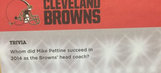 Even calendar makers can't keep up with the Cleveland Browns' head coach firings
