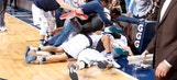 Mavs owner Mark Cuban jumps onto victory pile-on after double-overtime, buzzer-beater win