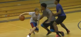 Jason Williams' son 'White Chocolate Jr.' is a baller just like his dad