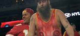 Meet the Kansas City Chiefs' 'Cat Suit Guy,' same as the Royals' Cat Suit Guy