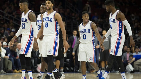 Philadelphia 76ers: $700 million