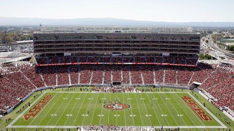 Entire club level at Levi's Stadium for Super Bowl 50: $90 million