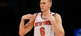 Knicks' Porzingis joins elite company when it comes to NBA jersey sales