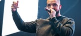 Drake plays critical role in Raptors game, forces Bull into turnover