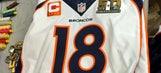 The official Super Bowl 50 uniform patch is pretty cool