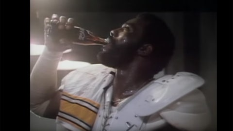 Mean Joe Greene's jersey from Super Bowl XIV