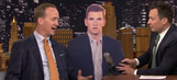 Peyton Manning reveals that Eli's emotionless Super Bowl stare is a regular occurrence