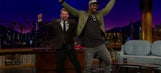 Von Miller dances, mocks Peyton Manning's age on 'Late Late Show'