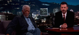 Listen to Morgan Freeman narrating pedestrians toting selfie sticks