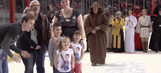 Army dad comes back from overseas to surprise his kids on 'Star Wars' night