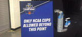 Bring a non-NCAA cup to March Madness at your own peril