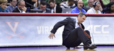 Virginia head coach Tony Bennett collapses on court
