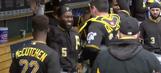 The Pittsburgh Pirates' pregame handshake routine is baseball performance art