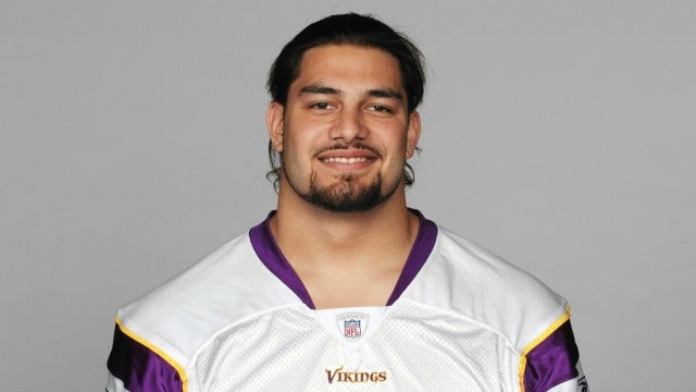 check out 48ccd f83ec Meet the ex-Vikings OL following Roman Reigns and Brock ...