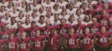 High school football player arrested, charged with felony over yearbook prank
