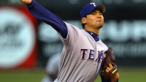 Chan Ho Park, Rangers (2001): 5 years, $65 million