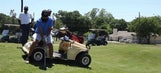 Paralyzed Army veteran helps team win tournament by draining a crazy putt