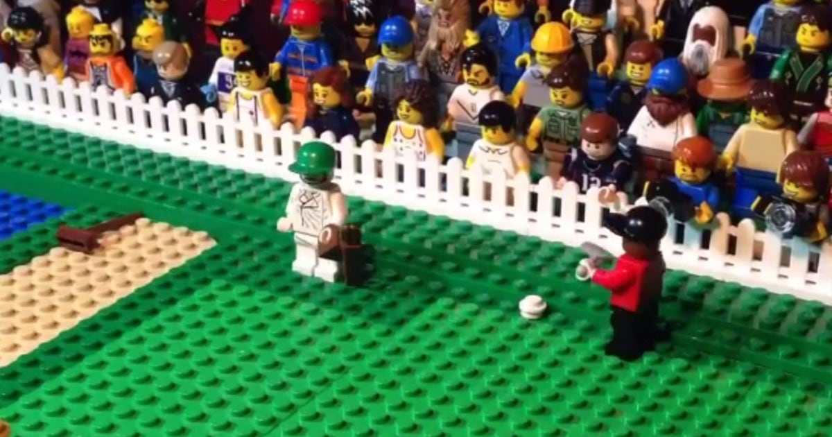 LEGO recreation of Tiger's epic Masters chip is his best highlight ...