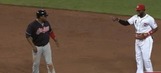 Brandon Phillips almost gives Juan Uribe a heart attack with phantom hidden-ball trick