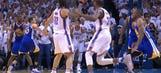 Thunder center Steven Adams showed Russell Westbrook the fastest way to get an assist