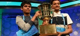 Did the spelling bee co-champion throw shade at his competitor?