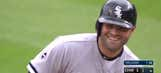 Justin Verlander attempts to pick off former catcher who can't help but laugh