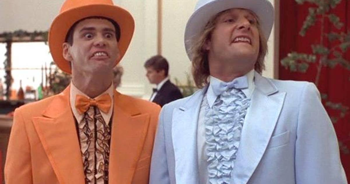 Two Guys In Dumb Amp Dumber Tuxedos Attempted To Catch