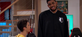 Timberwolves star Karl-Anthony Towns makes guest appearance on a Disney show