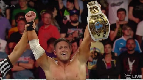 The Miz vs. Apollo Crews for the Intercontinental Championship