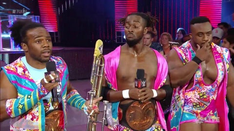 The New Day vs. Gallows and Anderson for the Tag Team Championship