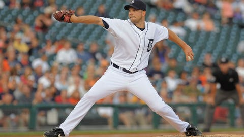 Detroit Tigers acquire Jarrod Washburn from the Mariners (July 31, 2009)