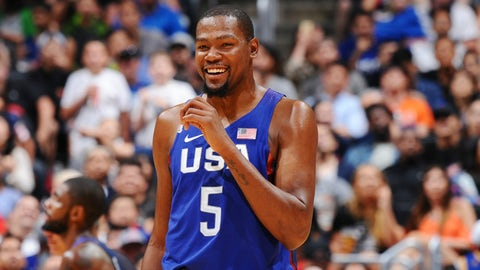 Power forward: Kevin Durant