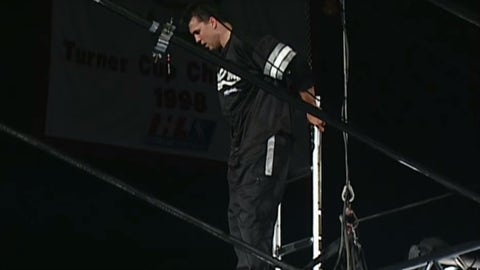 Have Shane McMahon jump off a very tall structure