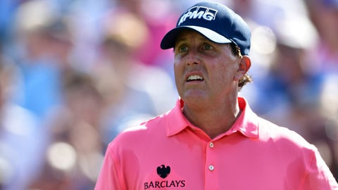 Phil Mickelson (18/1)