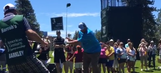 Charles Barkley resorted to one-handed swing after another horrible golf outing