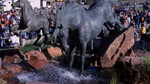 Bucking Broncos at Sports Authority Field at Mile High